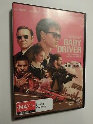 AU5.50 • Buy Baby Driver DVD Feat Ansel Elgort Kevin Spacey Jamie Foxx Jon Hamm GOOD COND