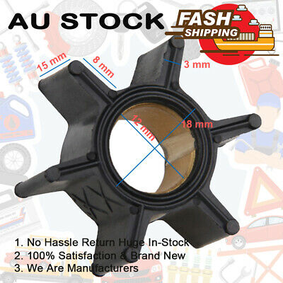 AU19.99 • Buy Outboard Motors Water Pump Impeller Fits Mercury 4hp 4.5hp 7.5hp 9.8hp 47-89981