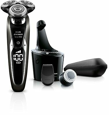 AU219.57 • Buy Philips Series 9000 Shaver 9800 Wet&Dry Men's Electric With Smartclean