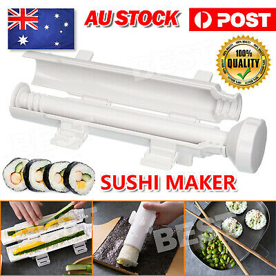 AU14.85 • Buy Sushi Tube Kit Machine Apparatus Rolling Rice Roller Mold DIY Maker Tool Kitchen