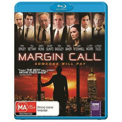 AU24.95 • Buy Margin Call Blu Ray - New & Sealed Kevin Spacey, Demi Moore Free Post