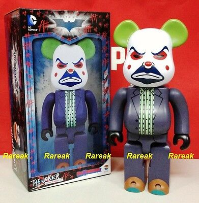 $234.99 • Buy Medicom 2016 Be@rbrick DC Comics Batman 400% Joker Bank Robber Bearbrick 1pc