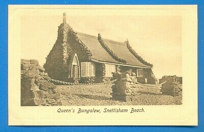 Queen's Bungalow,snettisham Beach.frith's Postcard • 3.50£