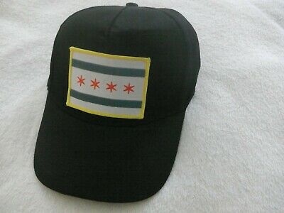 $ CDN29.95 • Buy The Alley Chicago, Adjustable Cap / Hat 'Classic 5 Panel Chicago Flag' (NEW)
