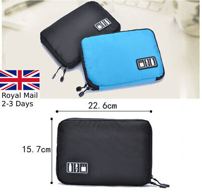Digital Device SD Card Cable Charging USB Phone Case Pouch Protector Organiser • 4.19£