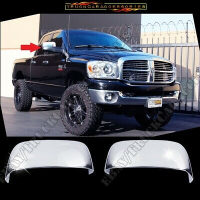 $38.88 • Buy FOR 2002 03 04 05 06 07 2008 Dodge Ram (Towing Style Only) Chrome Mirror Cover