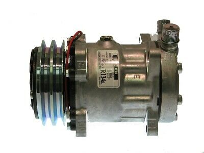 AU260.14 • Buy New Universal Heavy Duty OE Sanden AC Compressor SD7H15 4663 With 2A Groove 12vo
