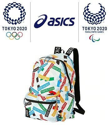 £82.76 • Buy Asics Tokyo 2020 Olympic Emblem MULTI CROSSING PACK Packable Backpack Limited