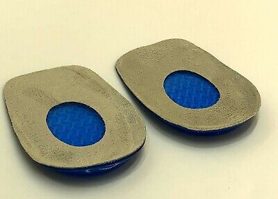 Silicone Heel Support Shoe Pads Orthotic Care Gel Plantar Insert Cushion Insoles • 2.30£