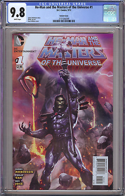 $1599.95 • Buy He-man And The Masters Of The Universe #1 Cgc 9.8 Variant Skeletor Grail 2012!