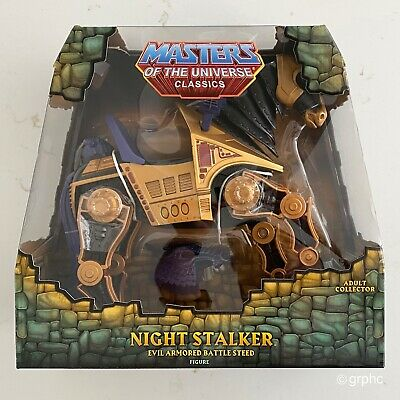 $99.99 • Buy MOTUC, Masters Of The Universe Classics, Night Stalker, He-Man, MSIB, NEW
