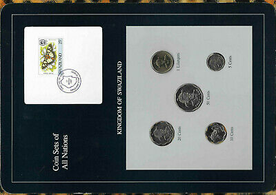 $11.44 • Buy Coin Sets Of All Nations Swaziland 1979 - 1986 UNC 1 Lilangeni 1986