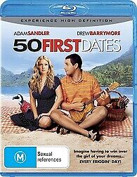 AU12.95 • Buy 50 First Dates Blu Ray - New & Sealed Adam Sandler, Drew Barrymore Free Post