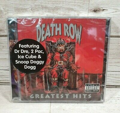 Death Row Greatest Hits Brand New And Sealed 2001 Dr Dre 2 Pac Ice Cube Snoop • 19.99£