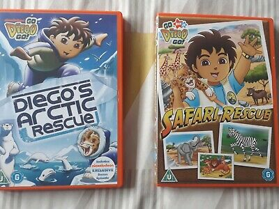 Go Diego Go Dvd Bundle • 3£