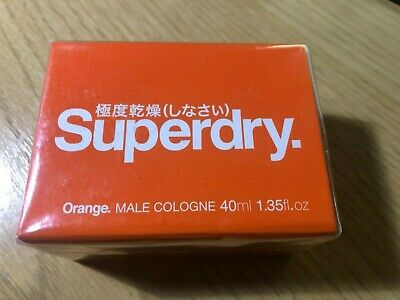 Superdry Orange Men Cologne Spray 40ml • 9.99£