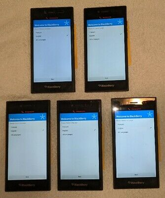 $ CDN230 • Buy Lot Of 5 - BlackBerry Leap Smartphones  - 16GB Shadow Grey - Unlocked