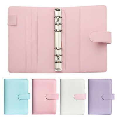 AU11.55 • Buy Ring Binder Loose Leaf Planner Classic Diary Notebooks Cover Notebook Manual