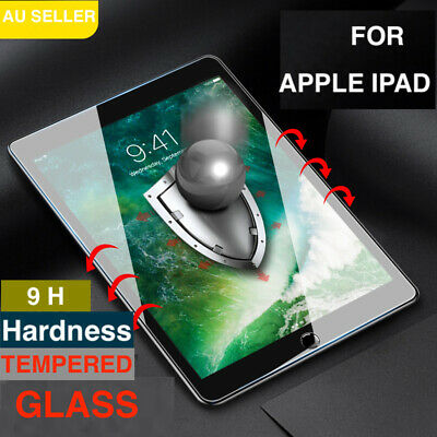 AU9.99 • Buy For Apple IPad 7th 8th Gen 10.2  Tempered Glass Screen Protector