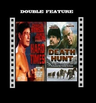 HARD TIMES + DEATH HUNT ( Charles Bronson ) Region 2 Compatible DVD Sealed • 10.99£