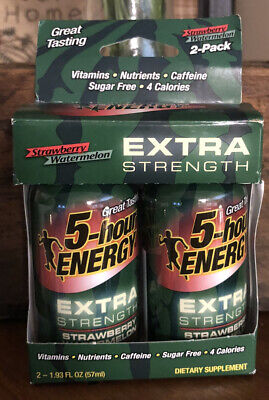 $ CDN17.15 • Buy 2 Pack 5-Hour Energy Energy Drink Extra Strength ~ Strawberry/Watermelon Exp 5/2