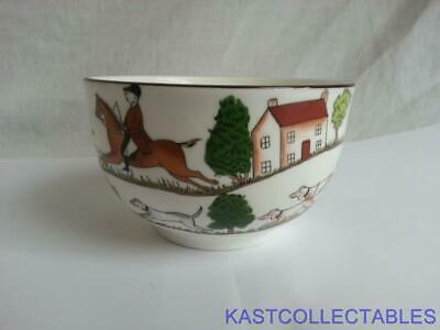 Crown Staffordshire Hunting Scene  Sugar Bowl - Coalport Backstamp • 14£