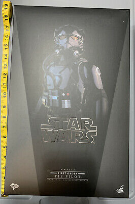 $145 • Buy Hot Toys MMS324 Star Wars First Order Tie Fighter Pilot Unleashed Starkiller