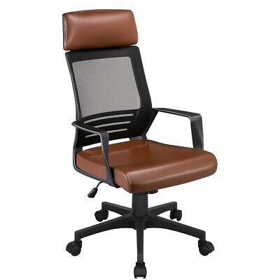 AU100 • Buy Ergonomic Mesh Office High Back Chair Height Adjustable Computer Swivel Chair