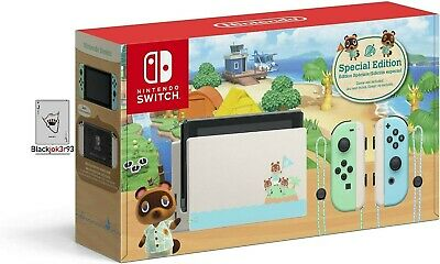 $ CDN871.28 • Buy Nintendo Switch Animal Crossing: New Horizon Special Edition Console BRAND NEW