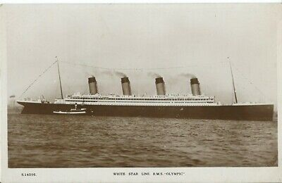 Shipping, White Star Line R.m.s.  Olympic , Photo Postcard • 13.50£