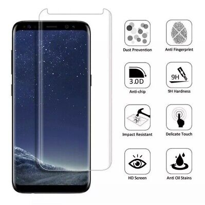 $ CDN6.30 • Buy Case Friendly Tempered Glass Screen Protector For Samsung Galaxy Note 8 & Note 9
