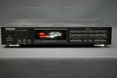 PIONEER F-656 FM/AM Digit Stereo Tuner Separate #43 From HIFI Vintage • 59£
