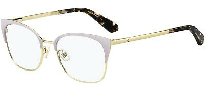 AU128.87 • Buy Kate Spade Kalie 0T7 Light Purple Violet Gold Metal Eyeglasses Frame 51-18-140