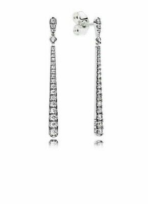 Genuine Pandora Sterling Silver Shooting Stars Drop Earrings -296351CZ • 19.89£
