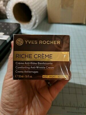 AU41.78 • Buy RICHE CREME YVES ROCHER- Comforting Night Cream - Made With The 1000 Roses Oil.