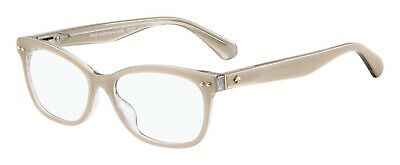 AU128.87 • Buy Kate Spade BRONWEN 0KB7 Pink Pearl Mix Grey Plastic Eyeglasses Frame 52-15-140