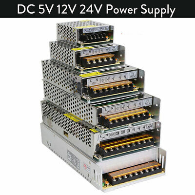 $ CDN7.47 • Buy Switch Power Supply 110V-220V TO DC 5V 12V 24V Driver Adapter LED Strip Light GL