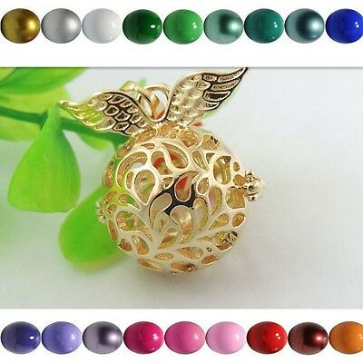 2X Mulit-color Harmony Ball Bells Mexican Bola Bell Without Locket Chains • 1.40£