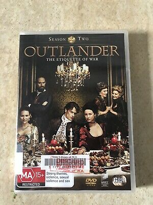 AU15.99 • Buy Outlander Season 2 6 Disc Set Dvd Ex Wa Library Dvd R4 Aus Seller Aus Release