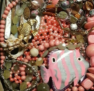 $ CDN59.31 • Buy Vintage Now Unsearched Untested NOT Junk Drawer Jewelry Lot Estate Mst Wear 5029