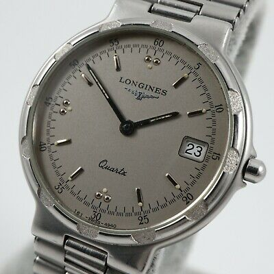 $ CDN370 • Buy LONGINES CONQUEST Silver Dial Ref. 4940 Cal. L161.4 Swiss Vintage Watch & Box