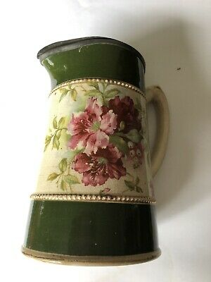 Victorian Jug With Pewter Lid • 4.80£