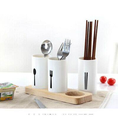 AU15.17 • Buy Kitchen Cutlery Caddy Plastic Utensil Holder Drainer Storage 13x6.5x8.5cm