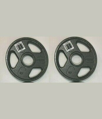$ CDN48.21 • Buy 5lb Olympic 2  Weight Plates Set Of 2 = 10s Lb Total