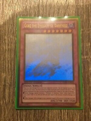 AU40 • Buy Gorz The Emissary Of Darkness - GLD5-EN024 - Ghost Rare - Limited Yu-Gi-Oh! Card