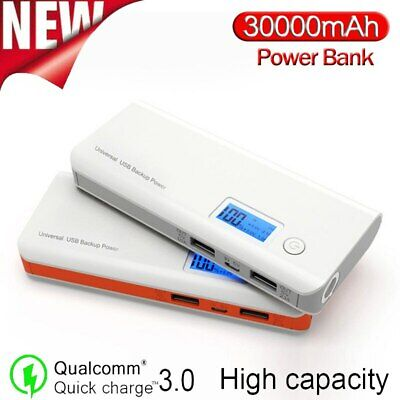 AU49.35 • Buy Best Portable Power Bank 300000mAh Battery Charger For Phone Flashlight LCD