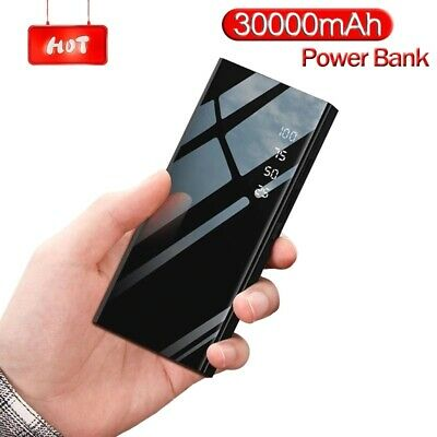 AU45.75 • Buy Best Fast Battery Charger 300000mAh Portable Power Bank For Smart Phone US