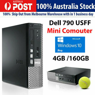AU125 • Buy Dell 790 USFF Mini PC I3 3.1GHz 4GB 160GB Windows  10 Or Win 7 Desktop Computer