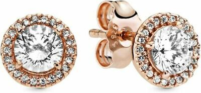 Genuine Pandora Rose Gold Love You Lock Heart Charm -787655 • 16.99£
