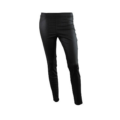 Womens H&M Skinny Fit Jeggings Leather Coated Jeans Black Size 4 To 18 • 9.97£